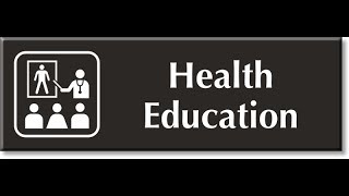 Health Education & Introduction Of Of Health Education