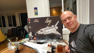 Building Lego Shuttle - Part 3