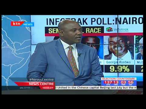 Survey shocker for Johnson Sakaja over 2017 Nairobi Senatorial Race