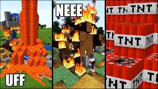 10 Spôsobov, ako DRASTICKY Vytrolliť Kamaráta v Minecrafte