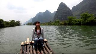 Video : China : River boat song, YangShuo - video
