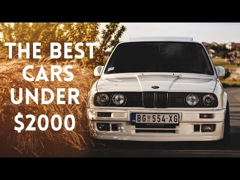 The BEST Cars For Under $2000