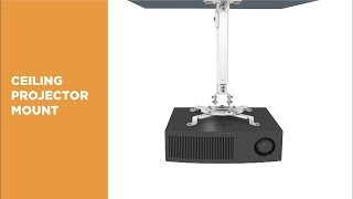 How To Install Universal Ceiling Projector Mount PRB-18F