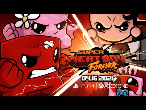 Super Meat Boy Forever : Xbox PS4 Launch Date Announce