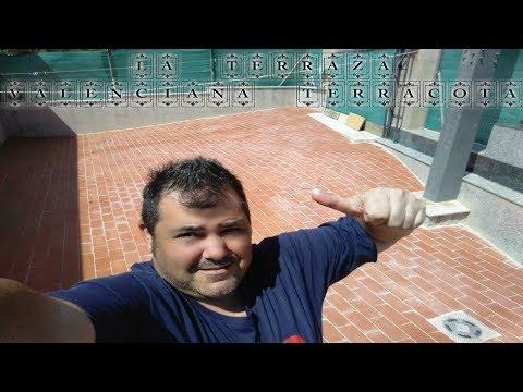 Revestimiento De Terrazas Con Terracota // Barro Cocido // Rústicas //