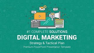 Best Digital Marketing PowerPoint (PPT) Templates and Infographics - Strategy and Plan