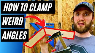 How to Clamp Miters Joints at ANY ANGLE / DIY Universal Clamping Block