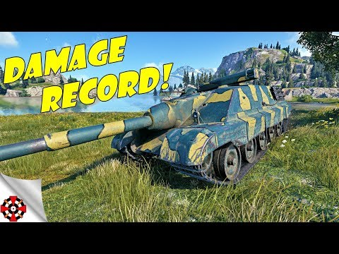 World of Tanks - AMX 50 Foch B DAMAGE RECORD! (WoT AMX 50 Foch B gameplay)