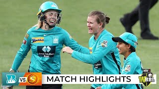Brisbane turn up the Heat on the Scorchers in Hobart | WBBL|07