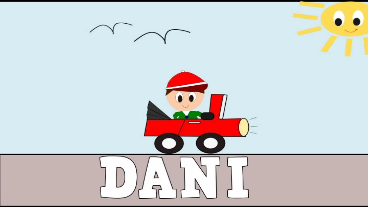 Aprender a Leer y Escribir DANI - Vídeos Educativos para Niños y Bebés