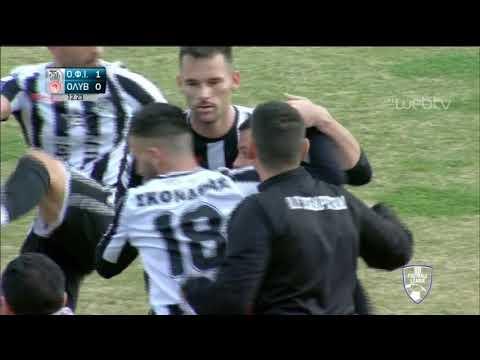 Football League: ΙΕΡΑΠΕΤΡΑ-ΟΛΥΜΠΙΑΚΟΣ ΒΟΛΟΥ  | ΓΚΟΛ 1-0 | 02/02/2020 | ΕΡΤ