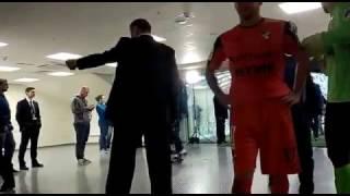 После матча Зенит - Урал 2-0