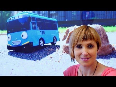 Автобус ТАЙО ищет букву К. Развивающее видео для детей