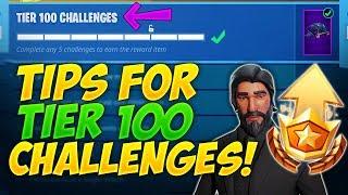 Tips for Season 3 Tier 100 Challenges   Fortnite: Battle Royale!