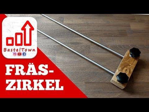 #oberfräse #fräszirkel ! Für 20 Euro selber bauen !