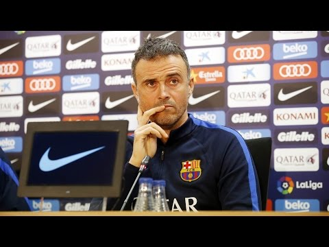 Luis Enrique's press conference ahead of Real Sociedad - FC Barcelona (Copa del Rey)