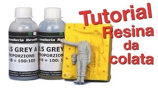 Come Riprodurre Un Soldatino In Resina - Resina 515 Grey