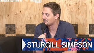 STURGILL SIMPSON FRF'17 DAY3 INTERVIEW