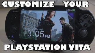 Customize Your Playstation Vita - PS Vita Tips and Tricks *UPDATED*