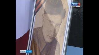 В Добринке похоронили останки солдата, найденные под Смоленском