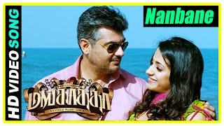 Nanbane Video Song | Mankatha Tamil Movie | Trisha learns the truth about Ajith | Jayaprakash
