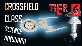 Crossfield-class Science Vanguard [T6] – with all ship visuals - Star Trek Online
