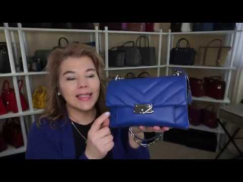 EXTRA POUFFY UNBOXING MICHAEL KORS CECE QUILTED IN SAPPHIRE