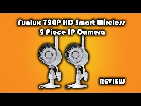 Funlux 720P HD Smart Wireless 2 Piece IP Camera Review