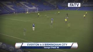 Everton vs Birmingham City, FA Youth Cup Fourth Round 2013-14 highlights