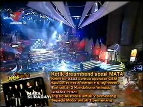 "Mata dreamband ""Begitu Indah"""