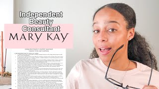 MARY KAY INDEPENDENT BEAUTY CONSULTANT CONTRACT | Part I #antimlm