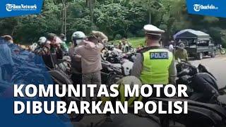 Viral Video Komunitas Motor di Tawangmangu Didatangi Polisi Dikira Ditilang, Ini Faktanya