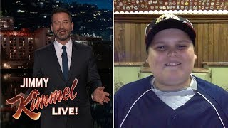 Jimmy Kimmel Interviews Big Al 'Dinger' Kid from Little League World Series