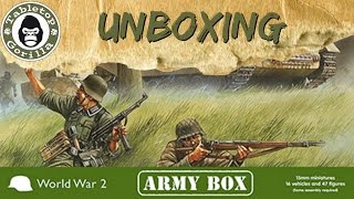 [Unboxing Army Box] Late War German Panzer Army von Plastic Soldier Company