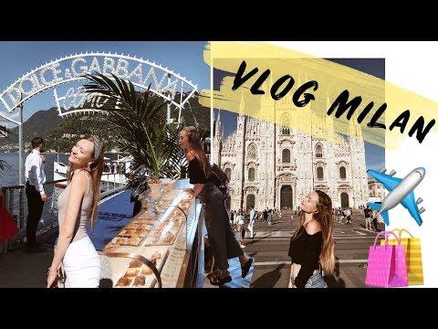 Влог из Милана ♡ Шопинг, любимые места, Комо