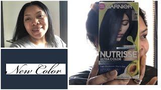 Dying My Hair | Garnier Nutrisse Dark Intense Indigo!