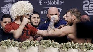 Зарплата Хабиба, Конора и других бойцов UFC 229, чемпион UFC может быть лишен титула