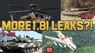 More 1.81 leaks? - War Thunder Weekly News