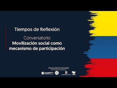 Movilización social como mecanismo de participación