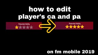 fm2019 mobile in game editor - TH-Clip