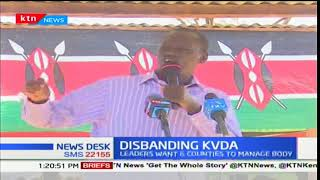 North Rift region governors demand the disbanding of Kerio Valley Development Authority (KVDA)