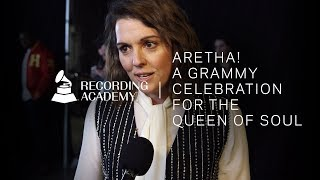 Brandi Carlile Honors Aretha Franklin With 'Do Right Woman, Do Right Man' Performance