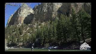 Big Sky, Montana Spring Fly Fishing - Gallatin River