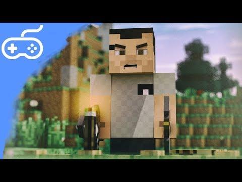 Dobrodružství v Minecraftu! - Part 3 - Cestičky a útok!