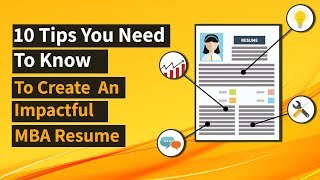 10 Steps for a Perfect Resume | MBA/ MiM/ MEM/ Jobs