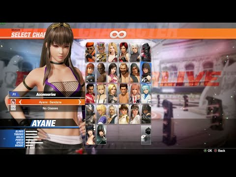 Dead or Alive 6 PC - MOD Swap Hair (For most characters)