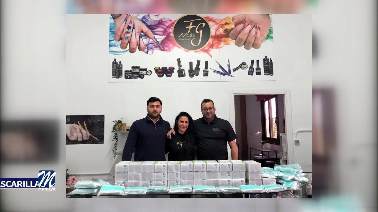 FG Nails entrega más de 2 000 mascarillas