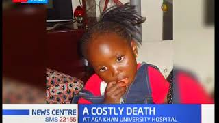 City hospital fails to release body of a 6-year-old over Sh1.9M hospital bill