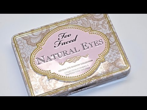 Natural Matte Eyes Eye Shadow Palette by Too Faced #8