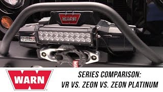 In the Garage™ with Performance Corner™: WARN VR vs. Zeon vs. Zeon Platinum